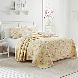 Laura Ashley® Melany Quilt Collection