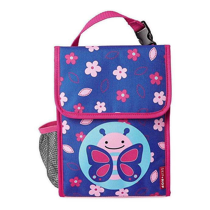 Alternate image 1 for Skip Hop® Zoo Butterfly Insulated Lunch Bag
