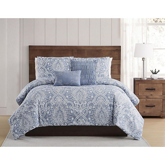 Alternate image 1 for Style 212® Justine Pleated Comforter Set