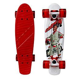 Kryptonics Toy Story 4 Duke Caboom Skateboard in Red