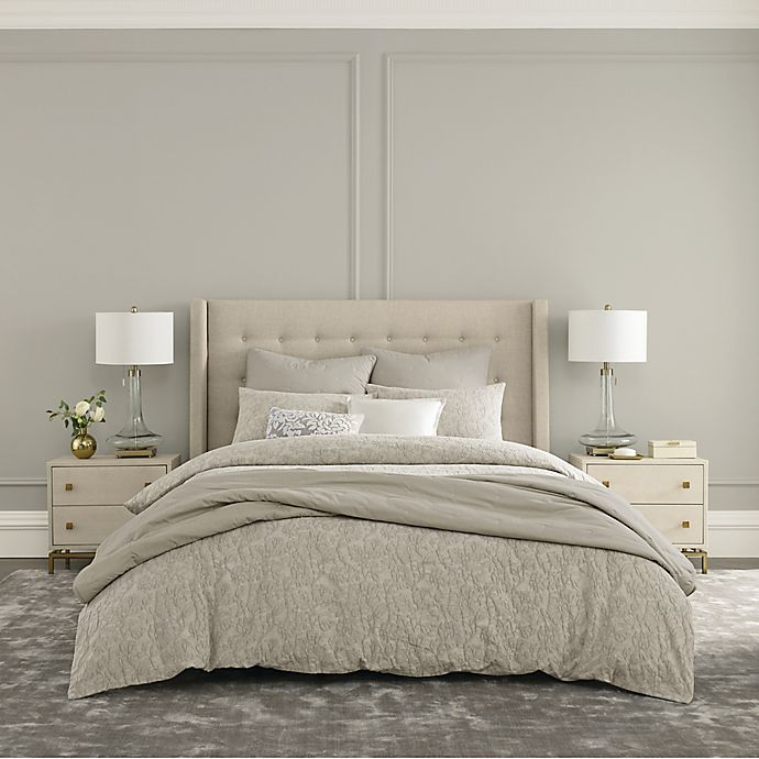 Alternate image 1 for Wamsutta® Huntington 3-Piece King Comforter Set in Dove Grey