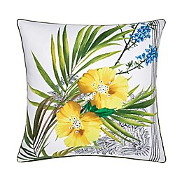 Ted Baker London® Royal Palm Square Throw Pillow