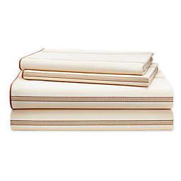 Lauren Ralph Lauren Allie 200-Thread-Count Cotton Striped Sheet Set
