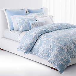 Lauren Ralph Lauren Joanna Floral 3-Piece Reversible Comforter Set in Aqua/White