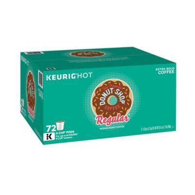 The Original Donut Shop Regular Coffee Keurig K-Cup Pods 72-Count