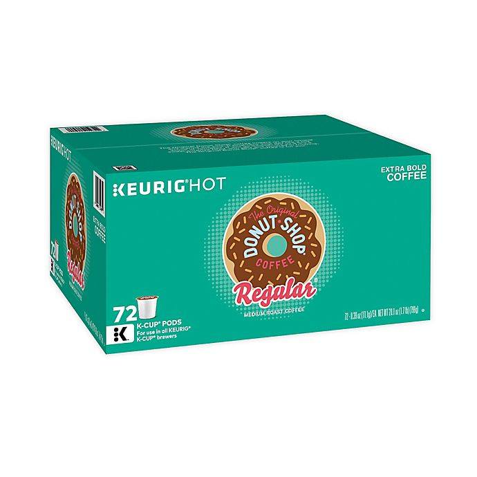 Alternate image 1 for The Original Donut Shop® Regular Coffee Keurig® K-Cup® Pods 72-Count