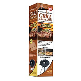 Copper Chef™ Nonstick Grill Mat (Set of 2)