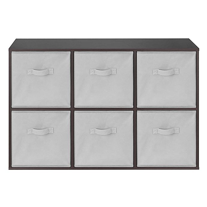 Alternate image 1 for Relaxed Living 6-Cube Organizer