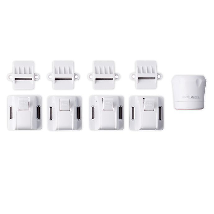Alternate image 1 for Toddleroo by North States® 4-Pack Magnetic Safety Locks