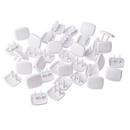 Toddleroo by North States® 36-Pack Plug Protectors in White