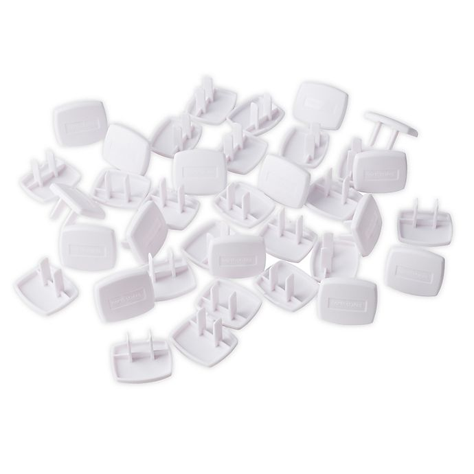 Alternate image 1 for Toddleroo by North States® 36-Pack Plug Protectors in White