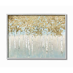 Abstract Gold Tree Landscape Wall Art Collection