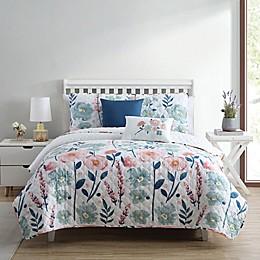 Stemmed Floral 5-Piece Quilt Set