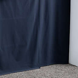 Nautica® Solid Navy Twin XL Extra-Long Dorm Bedskirt in Navy