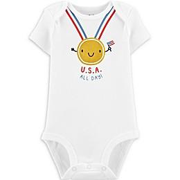 carter's® Olympic Bodysuit in White