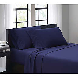 SALT™ 4 Piece King Sheet Set in Navy