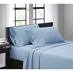 SALT™ 4 Piece King Sheet Set in Light Blue