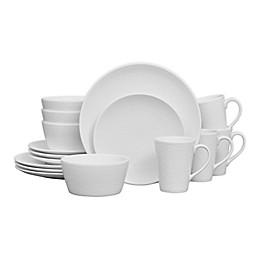 Noritake® White on White Snow Coupe 16-Piece Dinnerware Set