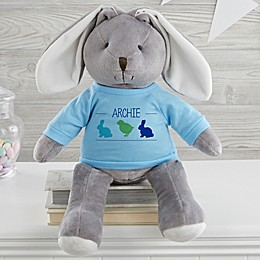 Hop Hop Personalized Easter Bunny Stuffed Animal