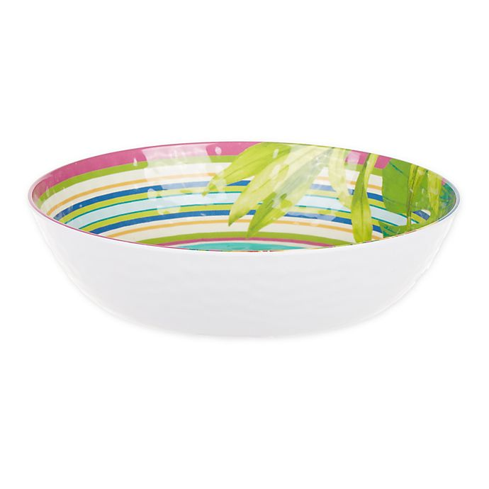 Alternate image 1 for Corozol Tropical Melamine Small Bowl in Turquoise