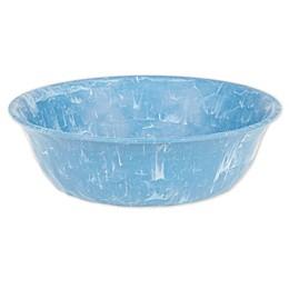 Swirl Bowl in Blue/White