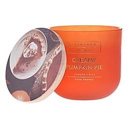 Heirloom Home Creamy Pumpkin Pie 14 oz. Glass Candle
