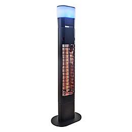 EnerG+™ Freestanding Infrared Electric Outdoor Heater in Black