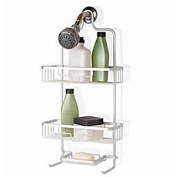 .ORG™ NeverRust® Aluminum Shower Caddy in Satin Chrome