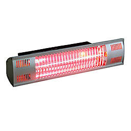 EnerG+™ Wall Mount Infrared Electric Outdoor Heater in Silver