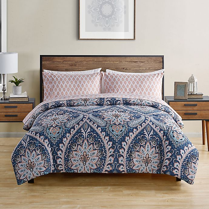 Alternate image 1 for VCNY Home Nashelle 5-Piece Comforter Set