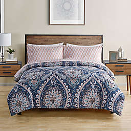 VCNY Home Nashelle 5-Piece Full/Full XL Comforter Set in Blue