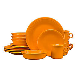 Fiesta® 16-Piece Dinnerware Set in Butterscotch