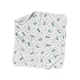 goumi® Botanical Nursery Blanket in Green/White