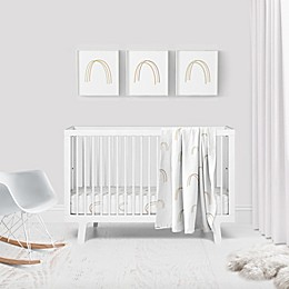 goumni® Over the Rainbow Crib 3-Piece Bedding Set