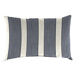 Jordan Manufacturing Striped Oblong Indoor/Outdoor Throw Pillow