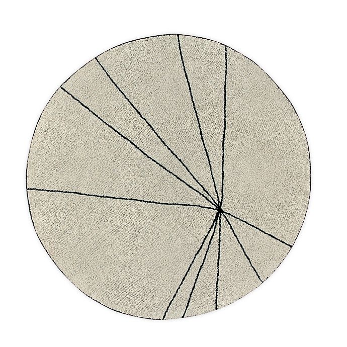 Alternate image 1 for Lorena Canals Trace 5' Round Hand Knotted Area Rug