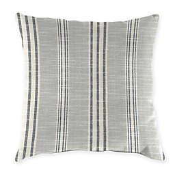 Jordan Manufacturing Striped Square Indoor/Outdoor Throw Pillows (Set of 2)
