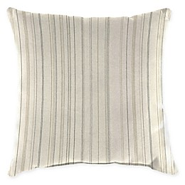 Jordan Manufacturing Striped Square Indoor/Outdoor Throw Pillow