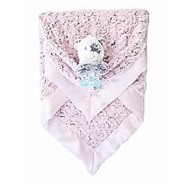 Zalamoon  3 Piece Blanket Gift Set in Blush