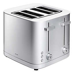 Zwilling J.A. Henckels Enfinigy 4-Slot Toaster in Grey/White