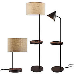 Adesso® Oliver AdessoCharge Lamp Collection in Black