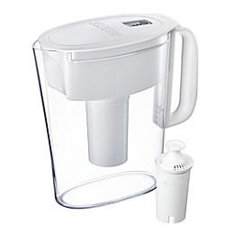 Brita® 6-Cup Water Filter Pitcher in Metro White