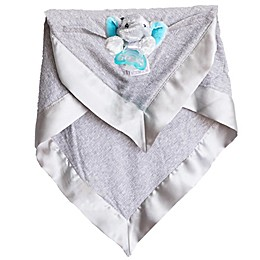 Zalamoon  3 Piece Blanket Gift Set in Steel