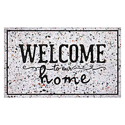 "Apache Masterpiece 18"" x 30"" ""Welcome to Our Home"" Door Mat"