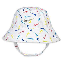 Nike® Size 12-24M Swooshfetti Bucket Hat in White