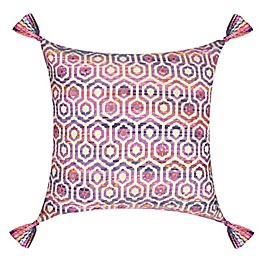 Global Caravan Jacquard Square Throw Pillow