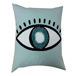Global Caravan Nazar Tufted Square Throw Pillow