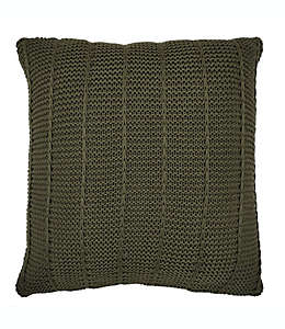 Cojín decorativo de poliéster Bee & Willow Home™ color verde oliva
