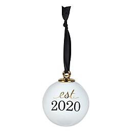 """Olivia & Oliver™ """"Est. 2020"""" 3-Inch Porcelain Ornament"""
