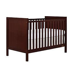 Dream On Me Springfield 3-in-1 Convertible Crib in Espresso